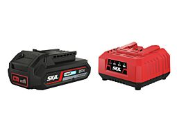"SKIL 3110 AA Akumulator (Li-Ion ""20V Max"" (18 V) 2,5 Ah z technologią ""Keep Cool"") i ładowarka"