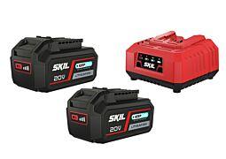 SKIL 3112 BA Akumulatory (Li-Ion '20V Max' (18 V) 4,0 Ah 'Keep Cool™') i ładowarka