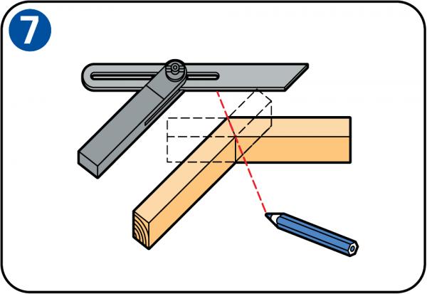 Ci cie pod k tem - Comment couper les plinthes en angle ...